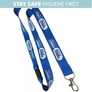Anti-Microbial Lanyard Printed with your logo