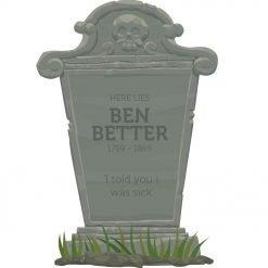 Gravestone 2 - Ben