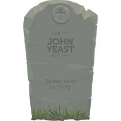 Gravestone 5 - John