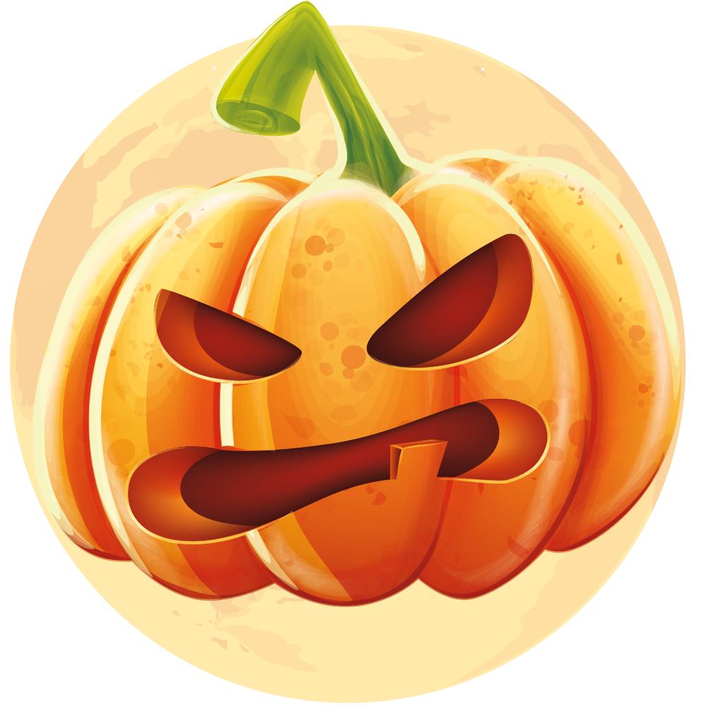 Pumpkin Hanging Sign