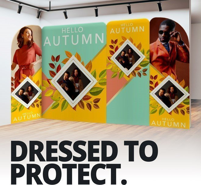 Self-Sanitising Stretch Textile Display Solutions