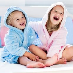 Kids Personalised Embroidered Dressing Gown – Bathrobe