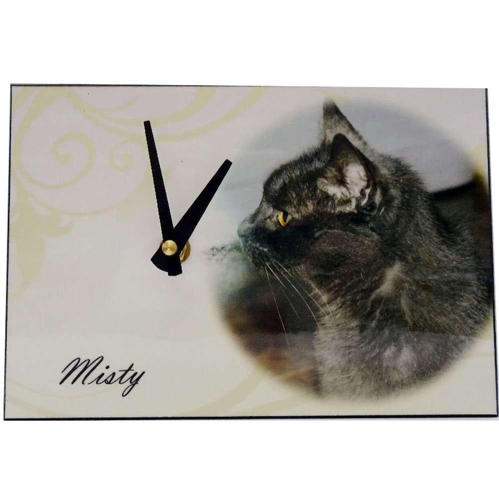 Personalised Rectangle Clock